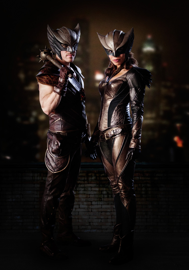 Hawkman et Hawkgirl