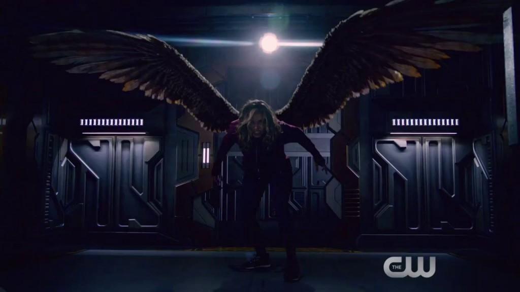 Hawkgirl legends of tomorrow 1x04