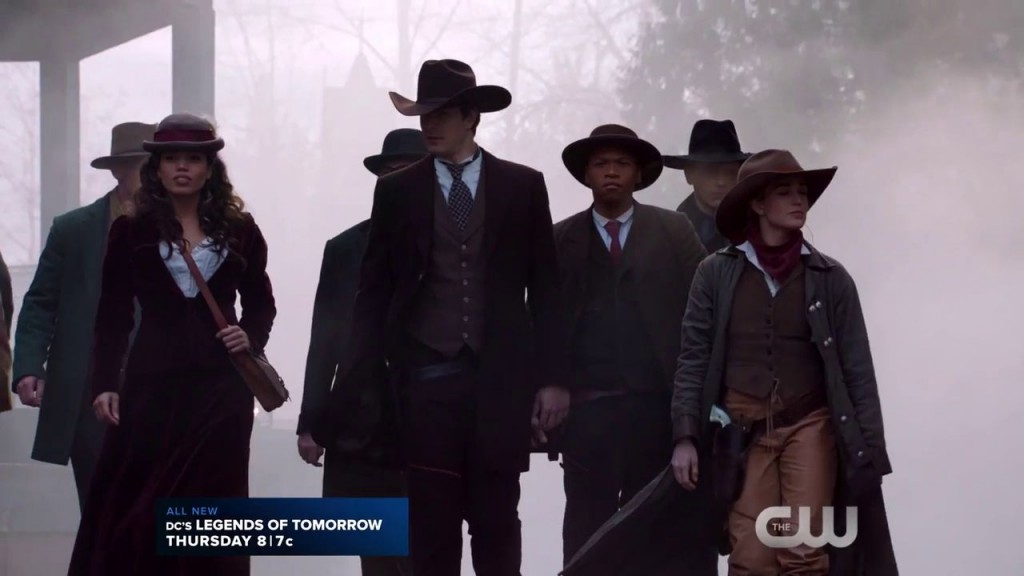 legends of tomorrow 1x11 team