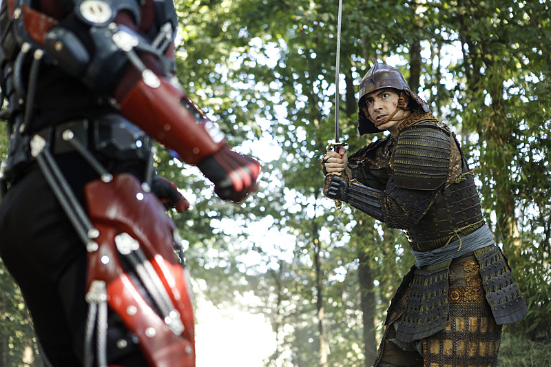 "DC's Legends of Tomorrow --""Shogun""-- Image LGN203a_0166.jpg -- Pictured: Brandon Routh as Ray Palmer/Atom -- Photo: Bettina Strauss/The CW -- © 2016 The CW Network, LLC. All Rights Reserved."